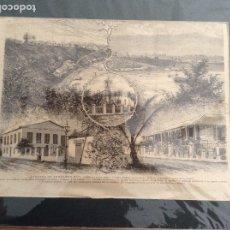 Arte: FERNANDO PÓO, PALMERAS EN LA NIEVE, GUINEA ESPAÑOLA. Lote 177802833