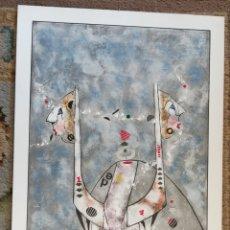 Arte: OSWALDO AULÉSTIA BACH. LITOGRAFÍA CON TIRAJE (PRUEBA DE ARTISTA) COMPOSICIÓN. Lote 177863747