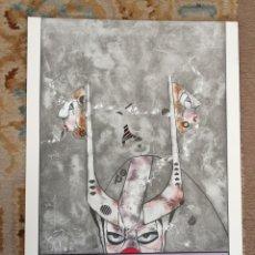 Arte: OSWALDO AULÉSTIA BACH. LITOGRAFÍA CON TIRAJE Nº94/100. COMPOSICIÓN. Lote 177866669
