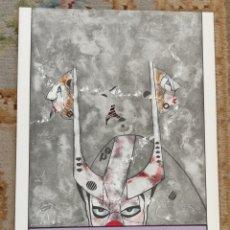 Arte: OSWALDO AULÉSTIA BACH. LITOGRAFÍA CON TIRAJE Nº93/100. PERSONAJE. Lote 177868265