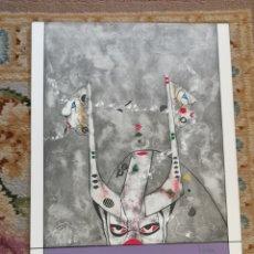Arte: OSWALDO AULÉSTIA BACH. LITOGRAFÍA CON TIRAJE Nº37/100. COMPOSICIÓN. Lote 177873934