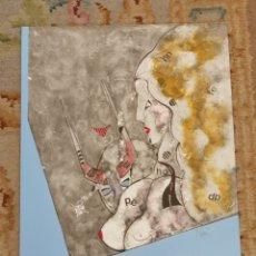 Arte: OSWALDO AULÉSTIA BACH. LITOGRAFÍA CON TIRAJE Nº73/100. COMPOSICIÓN. Lote 177874435
