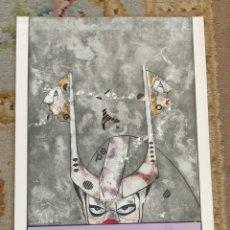 Arte: OSWALDO AULÉSTIA BACH. LITOGRAFÍA CON TIRAJE Nº73/100. COMPOSICIÓN. Lote 177876348
