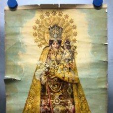 Arte: NTRA SRA. DE LOS DESAMPARADOS - PATRONA DE VALENCIA - ANTIGUA LITOGRAFIA. Lote 177878383