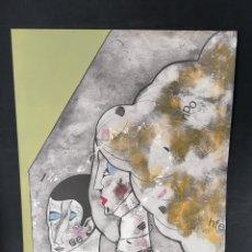 Arte: OSWALDO AULÉSTIA BACH. LITOGRAFÍA CON TIRAJE Nº72/100. COMPOSICIÓN. Lote 177878683