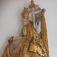 Arte: VIRGEN DE LAS ANGUSTIAS, CON CRISTO. CREO QUE DE GRANADA. EN ESCAYOLA POLICROMADA. Lote 177893875