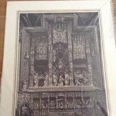 Arte: RETABLO ALTAR MAYOR DE LA CATEDRAL DE NUESTRA SEÑORA DEL PILAR EN ZARAGOZA. Lote 178098373