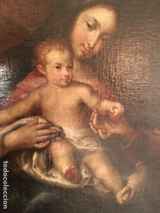 Arte: IMPRESIONANTE SAGRADA FAMILIA DE GRAN TAMAÑO - Foto 9 - 178178872