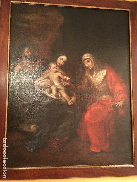Arte: IMPRESIONANTE SAGRADA FAMILIA DE GRAN TAMAÑO - Foto 11 - 178178872