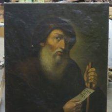 Arte: SAN FRANCISCO DE PAULA. OLEO S/ LIENZO. ESCUELA ESPAÑOLA. SIGLO XIX. Lote 178185525
