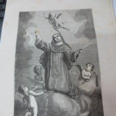 Arte: LÁMINA LITOGRAFÍA RELIGIOSA SANTA FEBRONIA. Lote 178199957