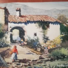 Arte: 1 JOAN TORRABADELL CASAS CON MUJER. Lote 178332080