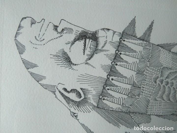 Arte: JOAN PONÇ, GRABADO FIRMADO Y NUMERADO. GALERIA RENÉ METRAS 1965 - Foto 3 - 178360275