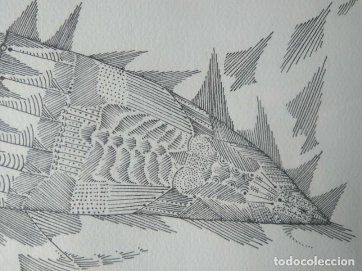 Arte: JOAN PONÇ, GRABADO FIRMADO Y NUMERADO. GALERIA RENÉ METRAS 1965 - Foto 4 - 178360275