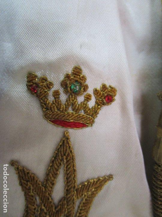 Arte: Bonita Virgen Purísima - Cap y Pota - Madera Tallada y Policromada - S. XIX - Foto 4 - 178611338