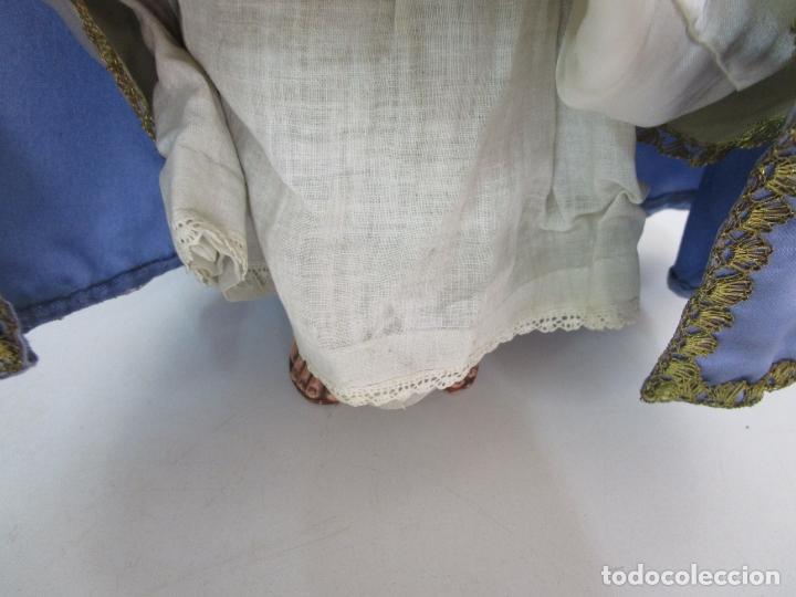 Arte: Bonita Virgen Purísima - Cap y Pota - Madera Tallada y Policromada - S. XIX - Foto 10 - 178611338
