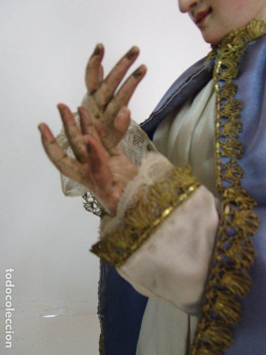 Arte: Bonita Virgen Purísima - Cap y Pota - Madera Tallada y Policromada - S. XIX - Foto 15 - 178611338