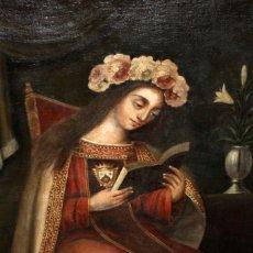 Arte: ESCUELA ESPAÑOLA DEL SIGLO XVIII. OLEO SOBRE TELA. VIRGEN DEL CARMEN. Lote 178637036