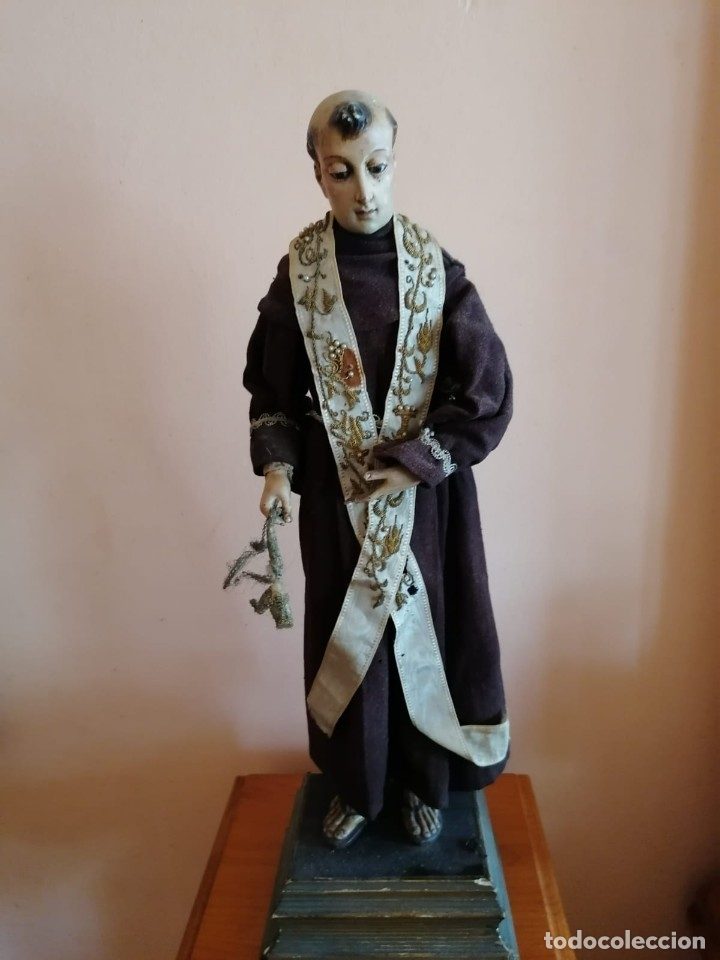 SANTO CAP-I-POTA S.XIX (Arte - Arte Religioso - Escultura)
