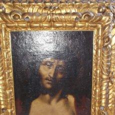 Arte: ANTIGUO OLEO SOBRE LIENZO ECCE HOMO XVII XVIII. Lote 178790968