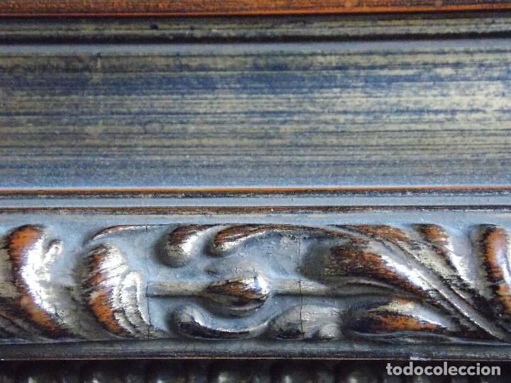 Arte: ANTIGUO OLEO SOBRE LIENZO VIRGEN Y SANTA CATALINA - Foto 9 - 178792141