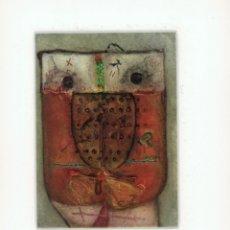 Arte: ANTONIO JIMÉNEZ CARLOMAGNO GRABADO Y GOFRADO ORIGINAL FIRMADO TITULADO FECHADO 1995 NUMERADO 31/99. Lote 178808017