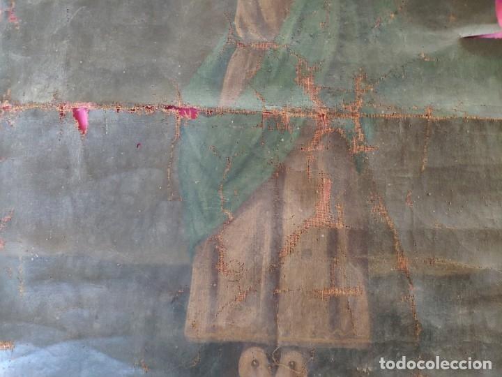 Arte: ÓLEO SOBRE LIENZO NIÑO DE PASIÓN SIGLO XVIII - 1000-088 - Foto 5 - 43724324