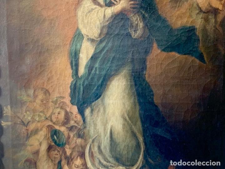 Arte: OLEO SOBRE LIENZO VIRGEN FIRMADO - Foto 4 - 178888081