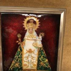 Arte: VIRGEN DE COVADONGA ESMALTE Y PLATA DE LEY GRANDE. Lote 178911775