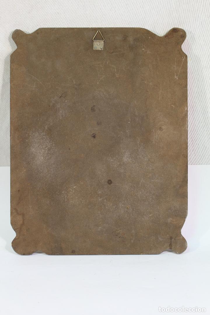 Arte: nuestra señora del perpetuo socorro en madera lamina - Foto 2 - 178920043