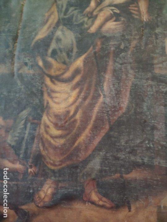 Arte: ÓLEO SOBRE LIENZO SAN JOSÉ CON NIÑO SIGLO XVIII - 1000-066 - Foto 23 - 43145250