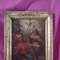 Arte: ÓLEO SOBRE LIENZO TRINIDAD ATRIBUIDO A J. ANTONIO ZAPATA Y NADAL 1762-1837 - 1000-071. Lote 43145369