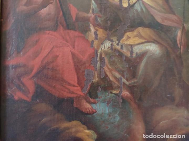 Arte: ÓLEO SOBRE LIENZO TRINIDAD ATRIBUIDO A J. ANTONIO ZAPATA Y NADAL 1762-1837 - 1000-071 - Foto 17 - 43145369