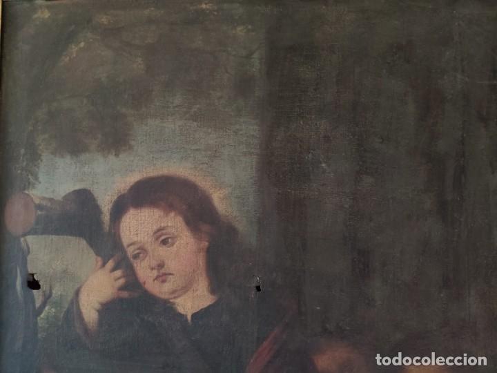 Arte: ÓLEO SOBRE LIENZO NIÑO DE PASIÓN SIGLO XVII - 1000-050 - Foto 24 - 43426843