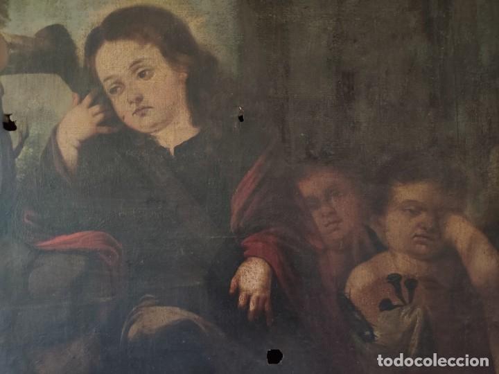 Arte: ÓLEO SOBRE LIENZO NIÑO DE PASIÓN SIGLO XVII - 1000-050 - Foto 26 - 43426843