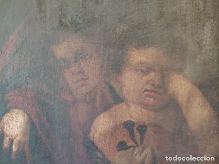 Arte: ÓLEO SOBRE LIENZO NIÑO DE PASIÓN SIGLO XVII - 1000-050 - Foto 28 - 43426843