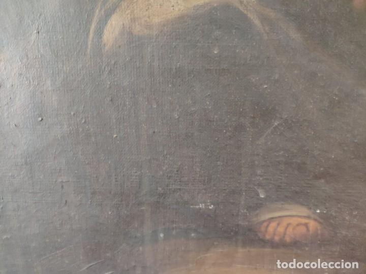 Arte: ÓLEO SOBRE LIENZO NIÑO DE PASIÓN SIGLO XVII - 1000-050 - Foto 31 - 43426843