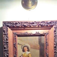 Arte: OLEO SOBRE TABLA DE ADOLFO AGUILAR Y PIMENTEL 1830 FIRMADO . Lote 178996741