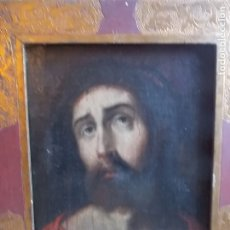 Arte: ANTIGUO OLEO SOBRE LIENZO ECCE HOMO XVII XVIII. Lote 179022070
