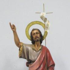 Arte: BONITO SAN JUAN. ESTILO OLOT. OJOS DE CRISTAL. Lote 179043730