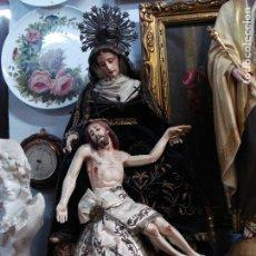 Arte: MAGNIFICA PIEDAD CAP I POTA SXIX VESTIDOS BORDADOS. Lote 179059327