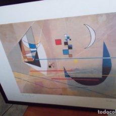Arte: EXCELENTE LITOGRAFIA // DE PROFERIO GROSSI// MEDIDAS 74X52// ENMARCADA . Lote 179072316