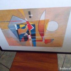 Arte: EXCELENTE LITOGRAFIA // DE PROFERIO GROSSI// MEDIDAS 74X52// ENMARCADA . Lote 179072572