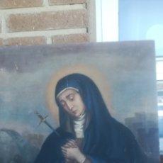 Arte: ANTIGUO ÓLEO RELIGIOSO. Lote 179074262