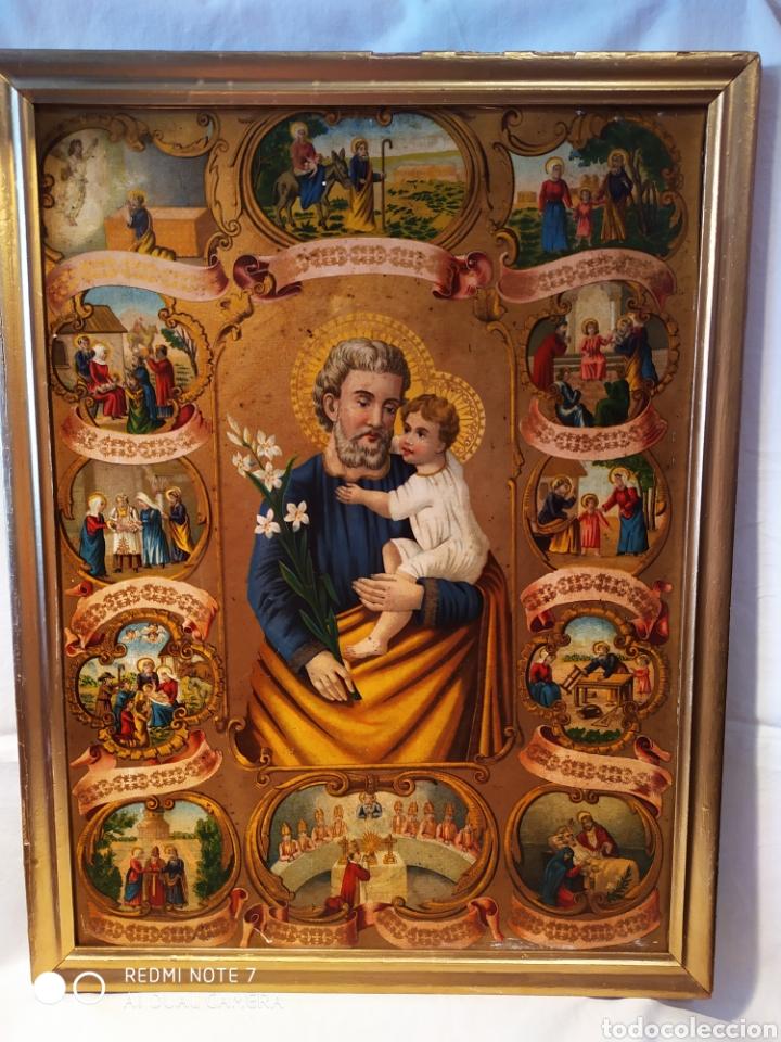 Arte: MARAVILLOSA CROMOLITOGRAFIA RELIGIOSA, SIGLO XIX O PP XX, ÚNICA, VER - Foto 8 - 179084170