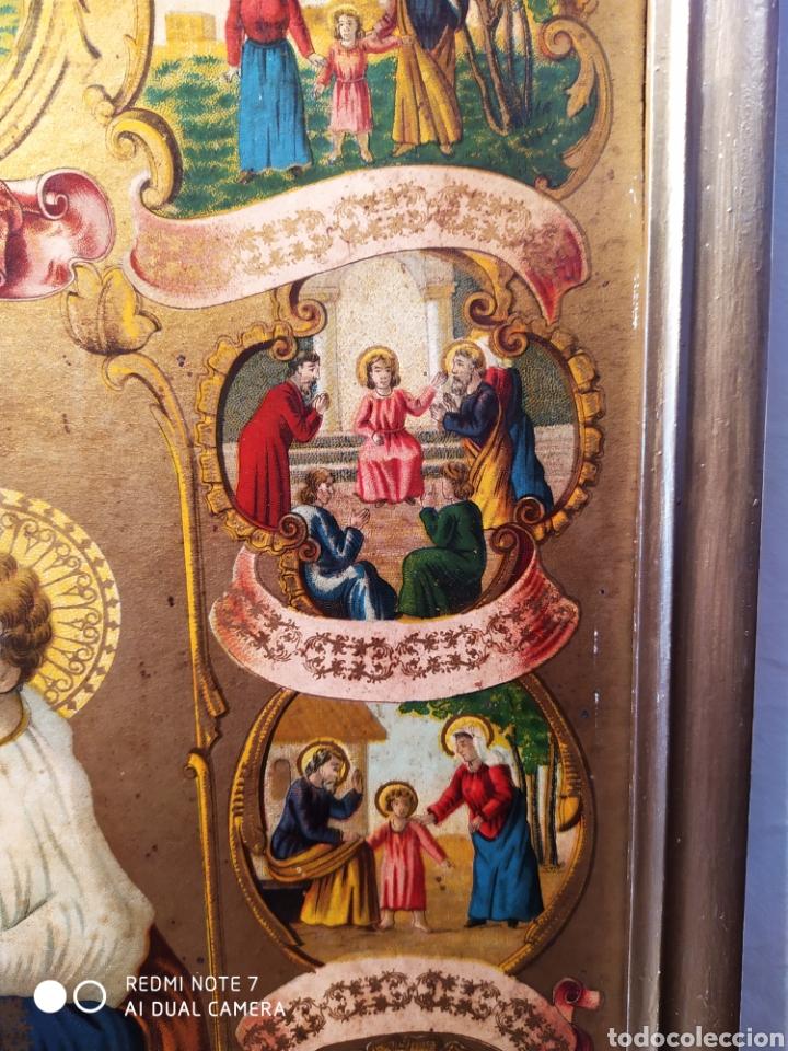 Arte: MARAVILLOSA CROMOLITOGRAFIA RELIGIOSA, SIGLO XIX O PP XX, ÚNICA, VER - Foto 10 - 179084170