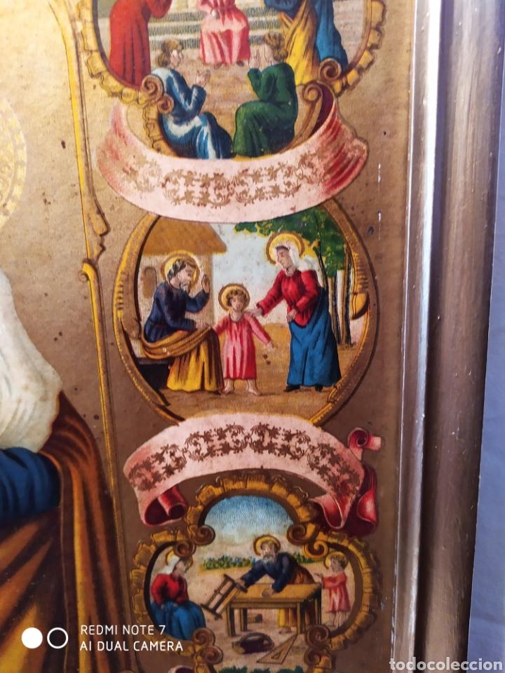 Arte: MARAVILLOSA CROMOLITOGRAFIA RELIGIOSA, SIGLO XIX O PP XX, ÚNICA, VER - Foto 11 - 179084170