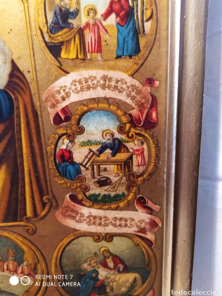 Arte: MARAVILLOSA CROMOLITOGRAFIA RELIGIOSA, SIGLO XIX O PP XX, ÚNICA, VER - Foto 12 - 179084170
