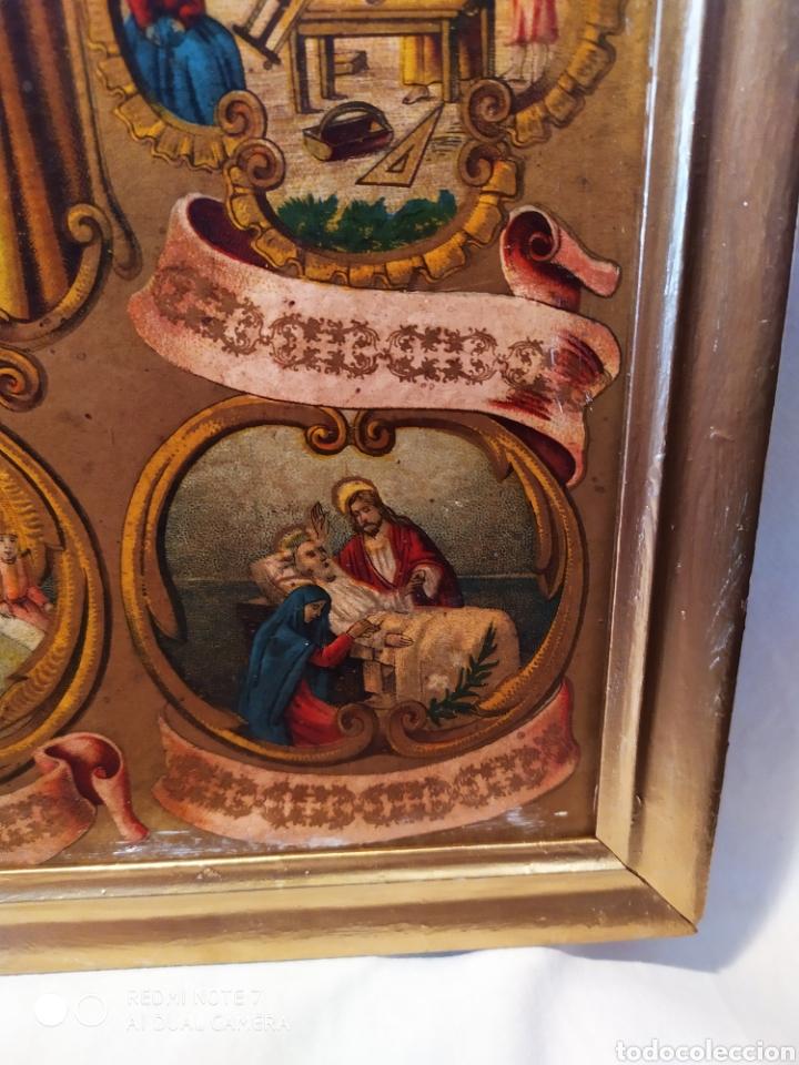 Arte: MARAVILLOSA CROMOLITOGRAFIA RELIGIOSA, SIGLO XIX O PP XX, ÚNICA, VER - Foto 13 - 179084170