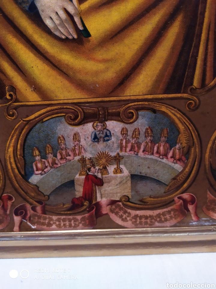 Arte: MARAVILLOSA CROMOLITOGRAFIA RELIGIOSA, SIGLO XIX O PP XX, ÚNICA, VER - Foto 14 - 179084170